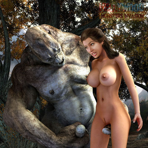 celebrity pussy fucked by 3d monster